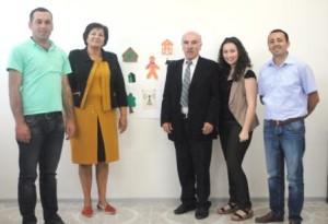 Ձախից աջ՝ Գառնիկ Հարոյան, Անահիտ Գեւորգայն, ԱշոտԴավթյան, Լիանա Հովհաննիսյան, Եղիազար Դավթյան